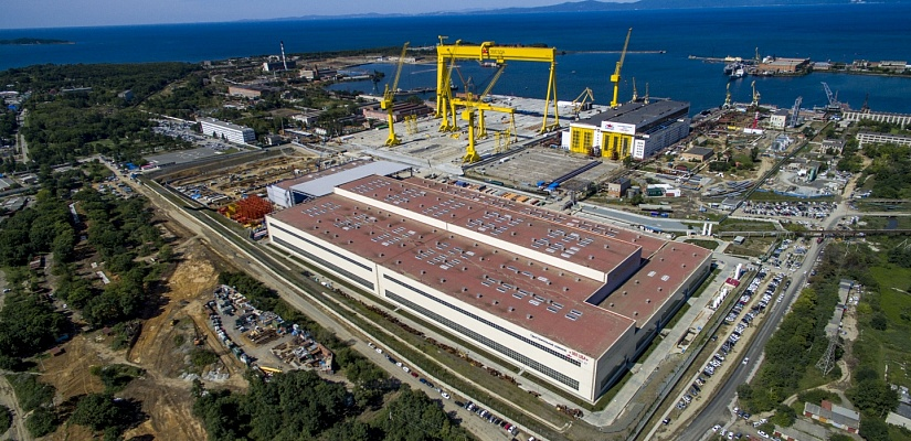 'Zvezda' Ship-Building Complex Construction Project